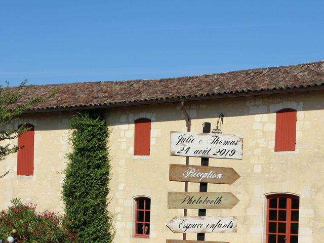 Le mariage de Thomas et Julie à Galgon, Gironde 25