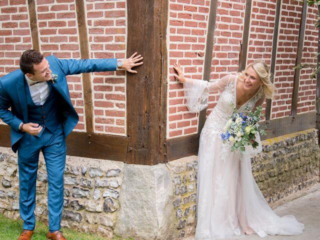 Le mariage de Nicolas et Adeline à Le Bocasse, Seine-Maritime 6