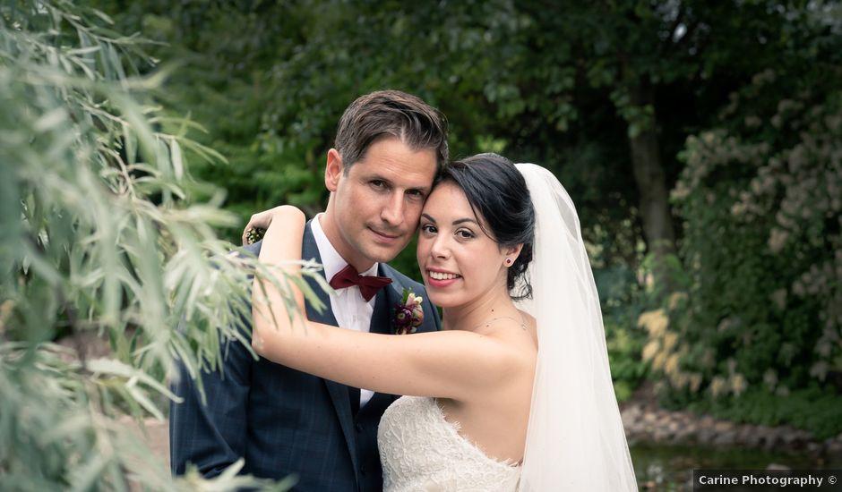 Le mariage de David et Valentine à Moineville, Meurthe-et-Moselle