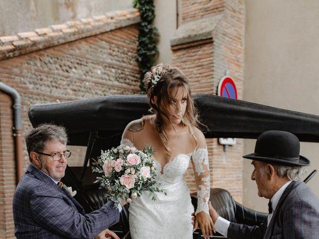 Le mariage de Florent et Laura à Saint-Clar-de-Rivière, Haute-Garonne 11