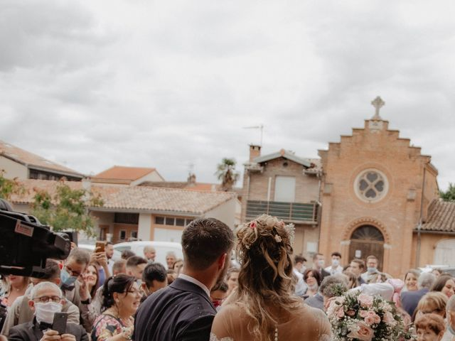 Le mariage de Florent et Laura à Saint-Clar-de-Rivière, Haute-Garonne 19