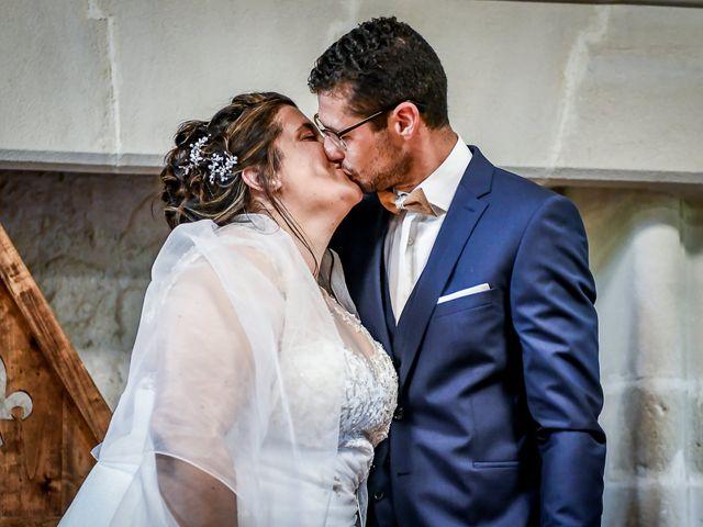 Le mariage de Jean Baptiste et Marine à Nouaillé-Maupertuis, Vienne 19