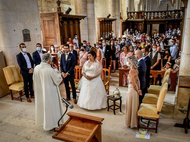 Le mariage de Jean Baptiste et Marine à Nouaillé-Maupertuis, Vienne 22