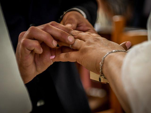 Le mariage de Jean Baptiste et Marine à Nouaillé-Maupertuis, Vienne 23