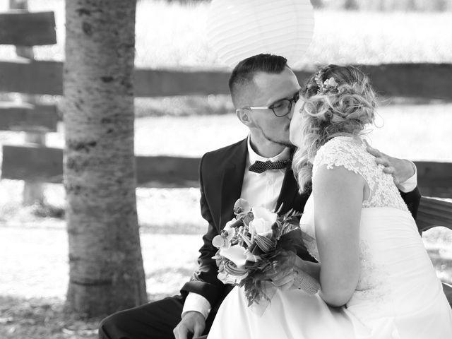 Le mariage de Emeric et Marjorie à Semur-en-Vallon, Sarthe 26