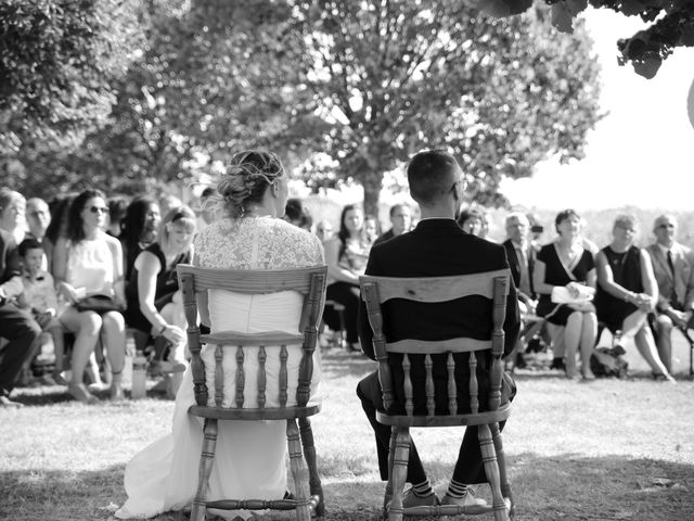 Le mariage de Emeric et Marjorie à Semur-en-Vallon, Sarthe 1
