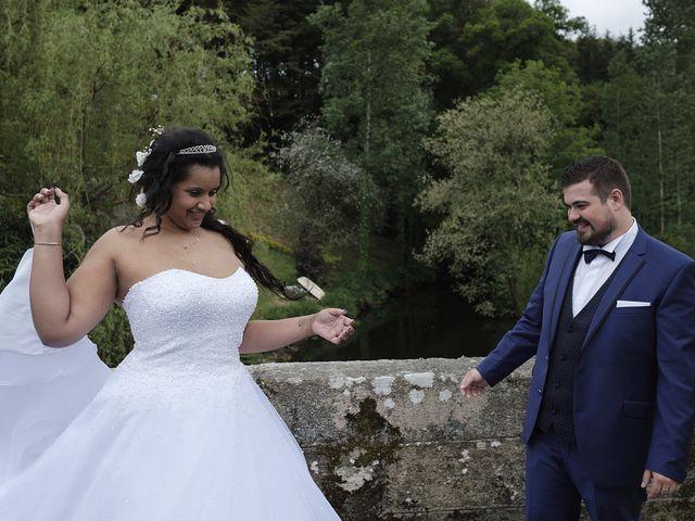 Le mariage de Yann et Julie à Lanvénégen, Morbihan 39