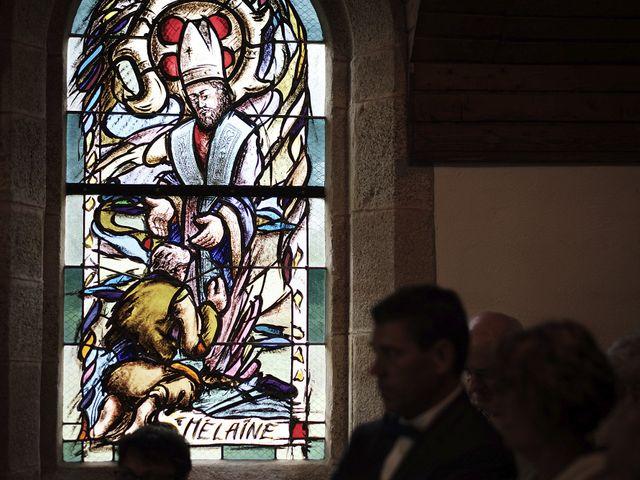 Le mariage de Yann et Julie à Lanvénégen, Morbihan 53