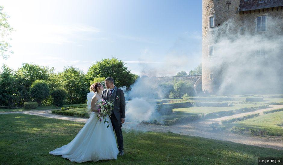 Le mariage de Christophe et Priscilla à Montferrat, Isère