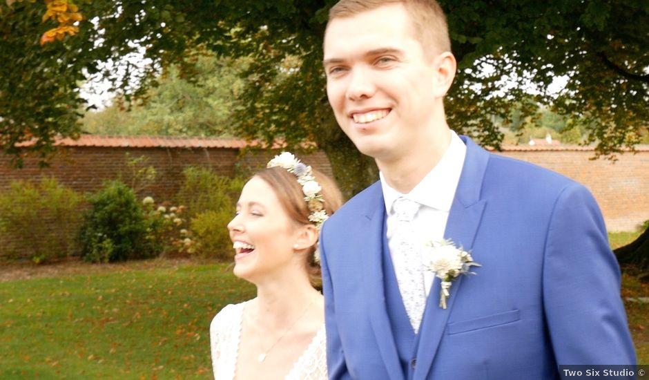 Le mariage de Guillaume et Justine à Coupelle-Vieille, Pas-de-Calais
