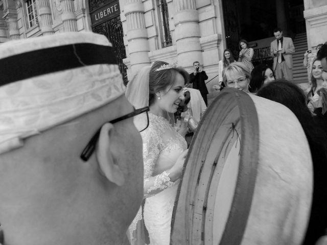 Le mariage de Vincent et Saïda à Paris, Paris 1