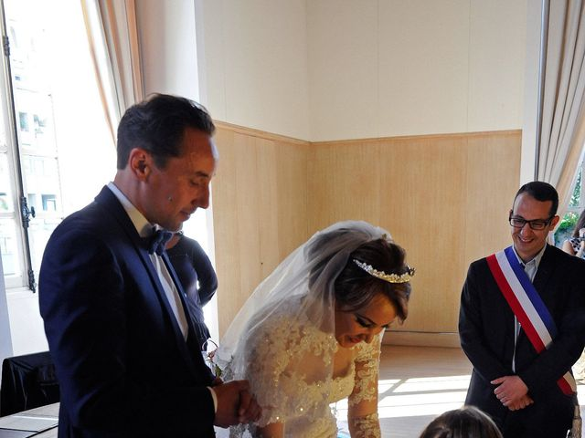 Le mariage de Vincent et Saïda à Paris, Paris 6