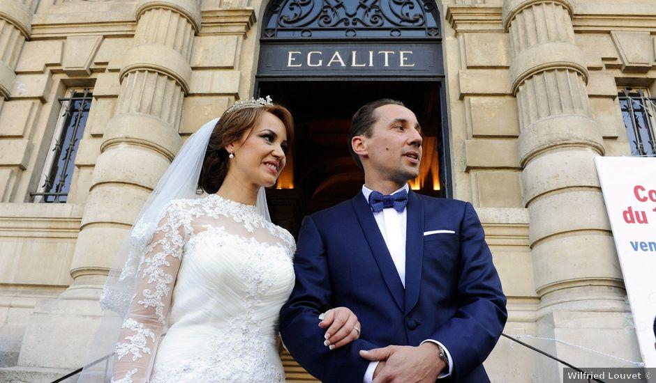 Le mariage de Vincent et Saïda à Paris, Paris