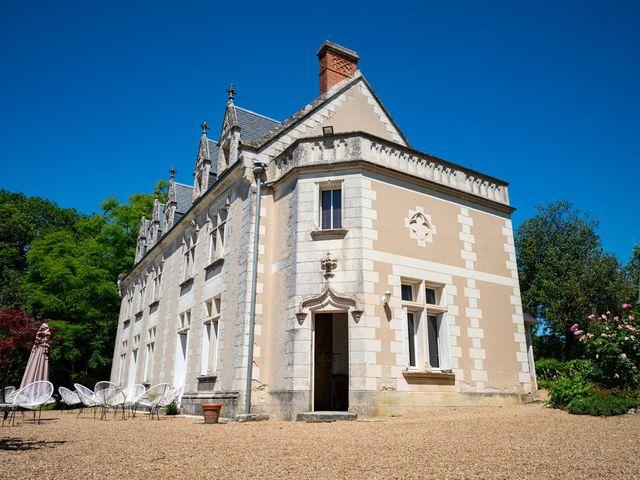 Le mariage de Nicolas et Anaëlle à Esvres, Indre-et-Loire 2