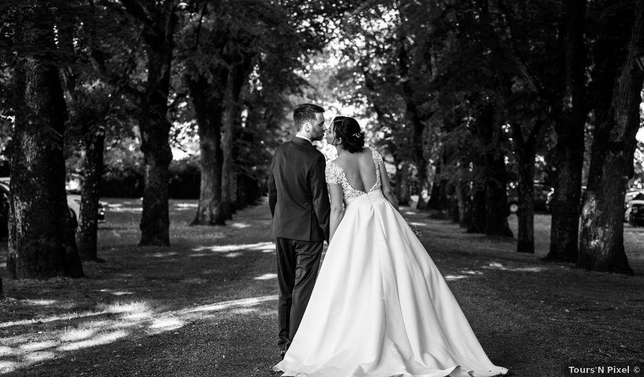Le mariage de Nicolas et Anaëlle à Esvres, Indre-et-Loire