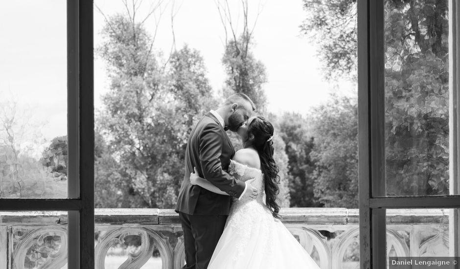 Le mariage de Mickaël et Sandra à Pontarmé, Oise