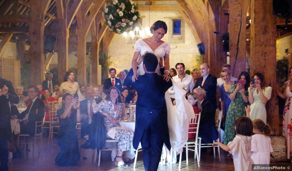 Le mariage de Jean Baptiste et Hortense à Écouis, Eure