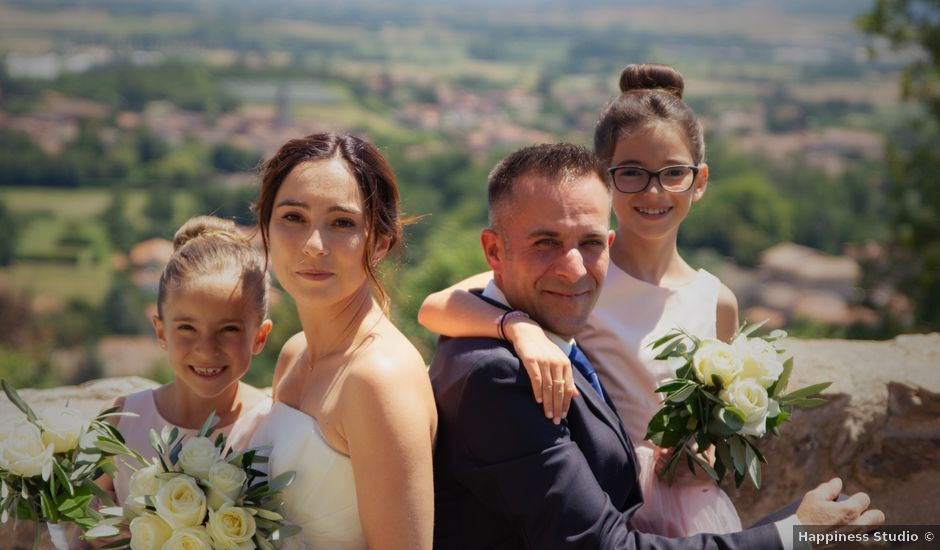 Le mariage de Daniel et Anaïs à Le Bois-d'Oingt, Rhône