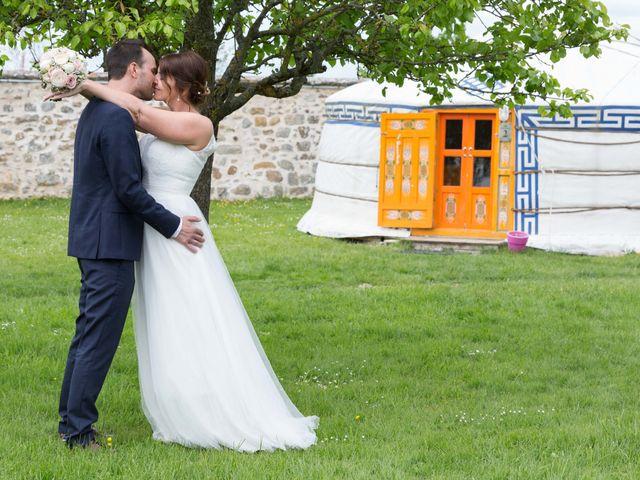 Le mariage de Julien et Alicia à La Chapelle-Gauthier, Seine-et-Marne 77