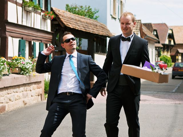 Le mariage de Audrey et Sacha à Vendenheim, Bas Rhin 6