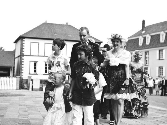 Le mariage de Audrey et Sacha à Vendenheim, Bas Rhin 8