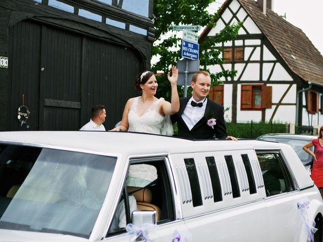 Le mariage de Audrey et Sacha à Vendenheim, Bas Rhin 17