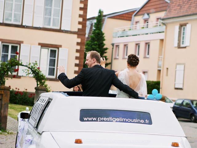 Le mariage de Audrey et Sacha à Vendenheim, Bas Rhin 18