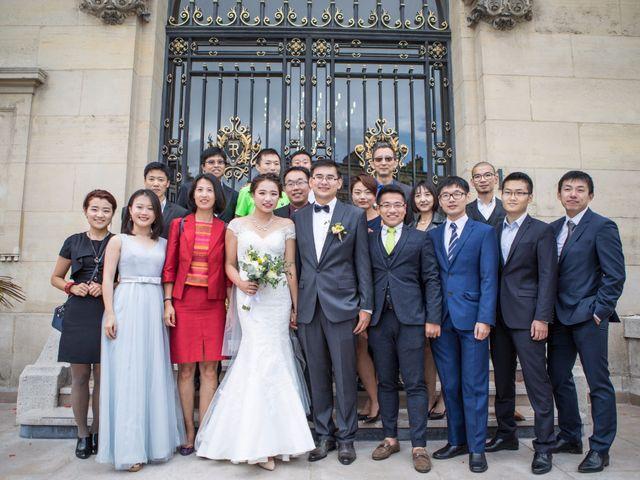 Le mariage de Xiaolong et Monica à Paris, Paris 10