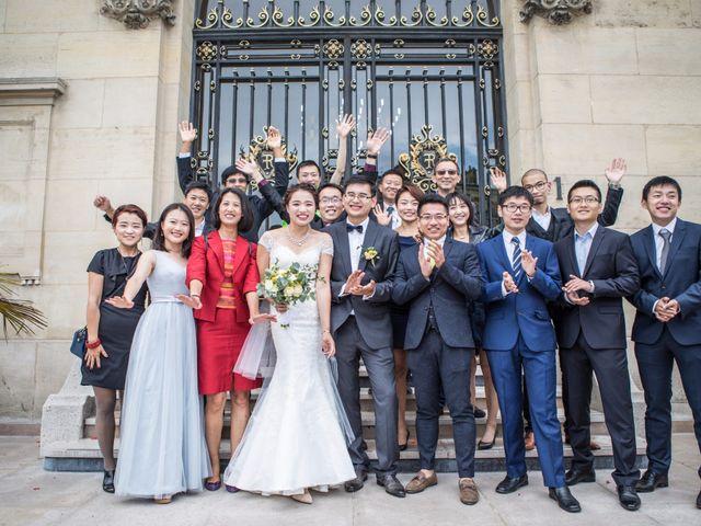 Le mariage de Xiaolong et Monica à Paris, Paris 11
