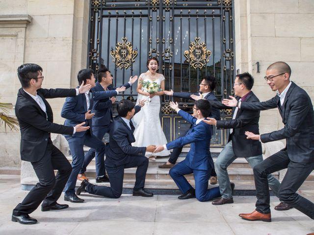 Le mariage de Xiaolong et Monica à Paris, Paris 12