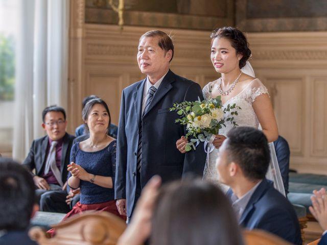 Le mariage de Xiaolong et Monica à Paris, Paris 14
