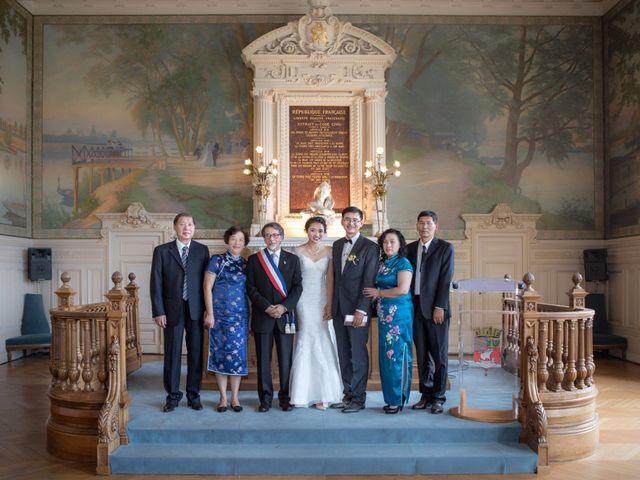 Le mariage de Xiaolong et Monica à Paris, Paris 18