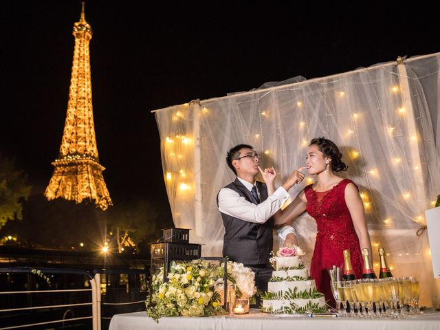 Le mariage de Xiaolong et Monica à Paris, Paris 37