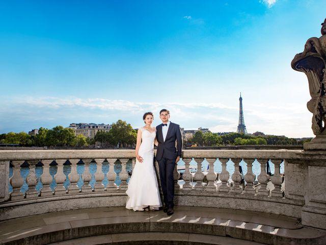 Le mariage de Xiaolong et Monica à Paris, Paris 40