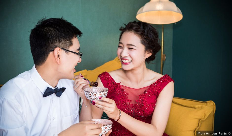 Le mariage de Xiaolong et Monica à Paris, Paris