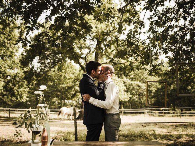 Le mariage de Thierry et David à Belin Béliet, Gironde 15