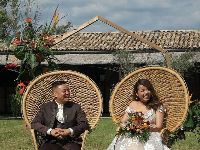 Le mariage de Chea  et Delphine à Goudargues, Gard 2