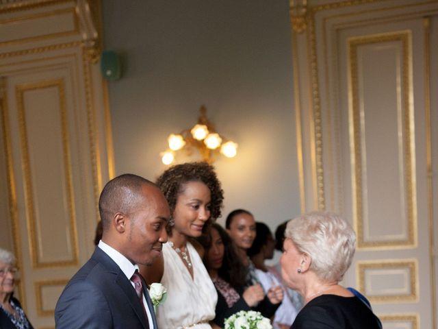 Le mariage de Ben et Audrey à Paris, Paris 8