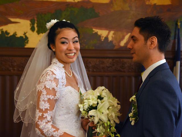 Le mariage de Romain et Chieko à Lyon, Rhône 9