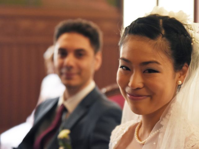 Le mariage de Romain et Chieko à Lyon, Rhône 11
