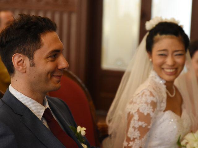 Le mariage de Romain et Chieko à Lyon, Rhône 12