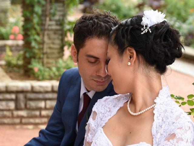Le mariage de Romain et Chieko à Lyon, Rhône 14