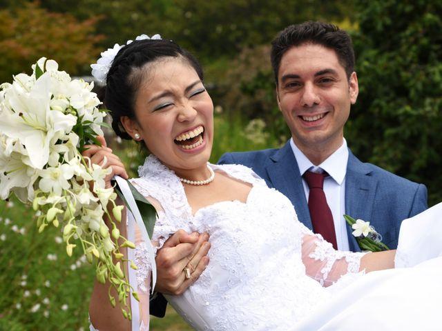 Le mariage de Romain et Chieko à Lyon, Rhône 16