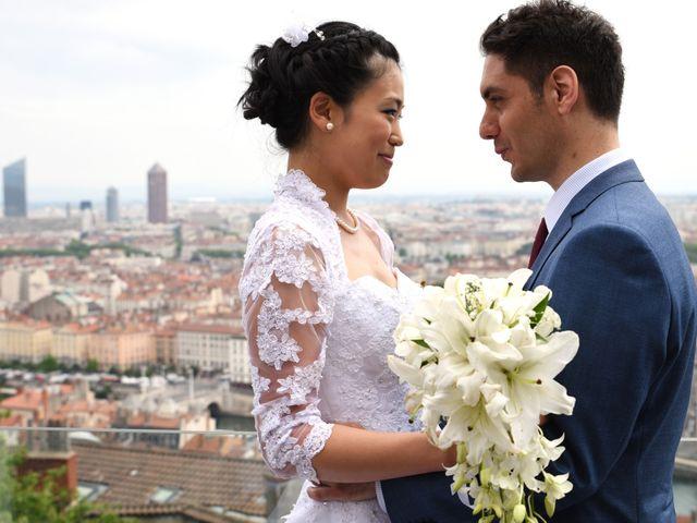 Le mariage de Chieko et Romain