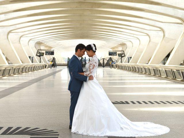 Le mariage de Romain et Chieko à Lyon, Rhône 2