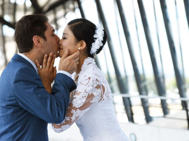 Le mariage de Romain et Chieko à Lyon, Rhône 25