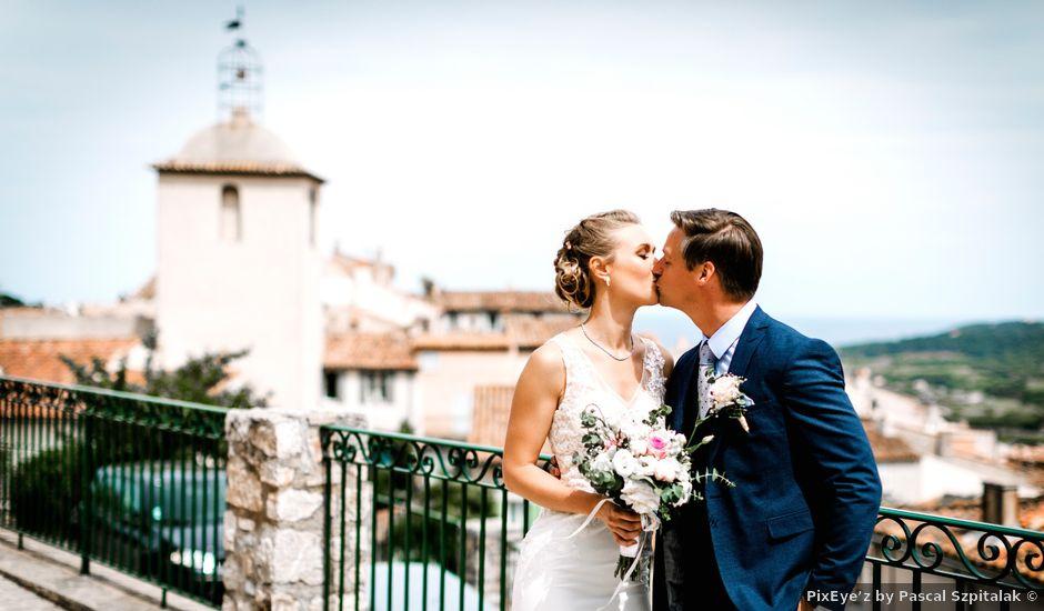 Le mariage de Geoffroy et Eva à Ramatuelle, Var
