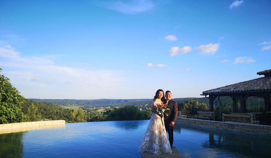 Le mariage de Chea  et Delphine à Goudargues, Gard