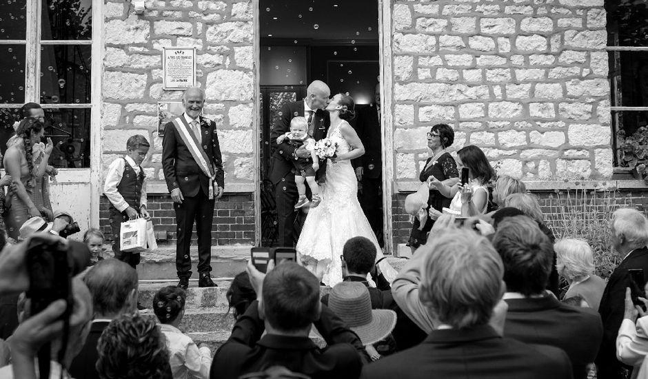 Le mariage de Dirk et Ségolène  à Giverny, Eure