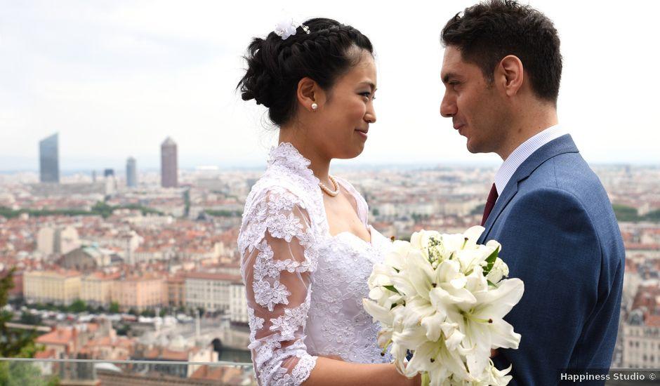 Le mariage de Romain et Chieko à Lyon, Rhône